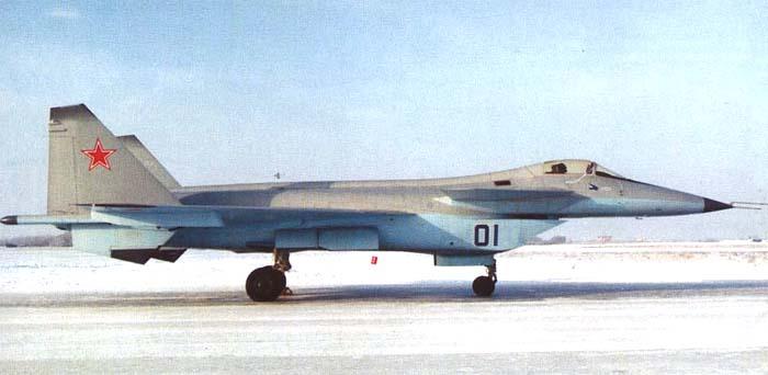 Истребитель МиГ 1.44 МФИ