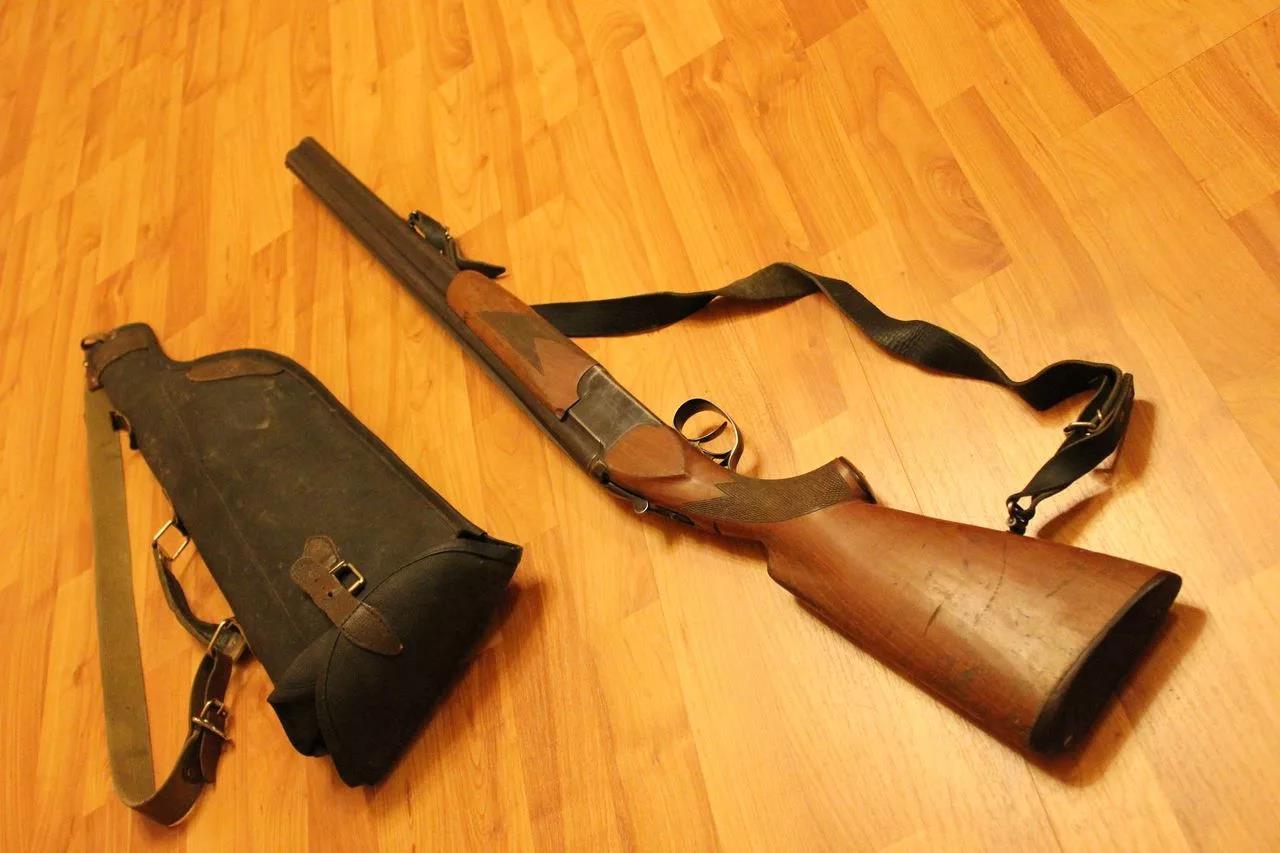 ИЖ-12 с сумкой