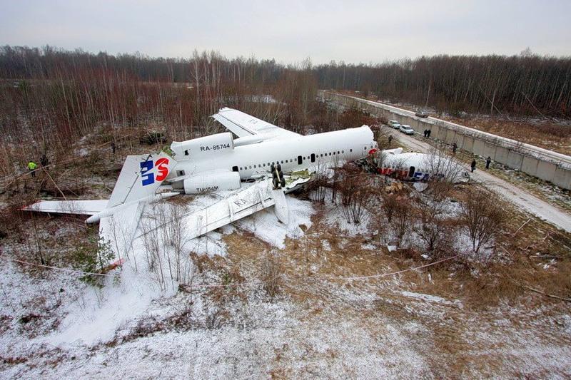 Катастрофа Ту-154