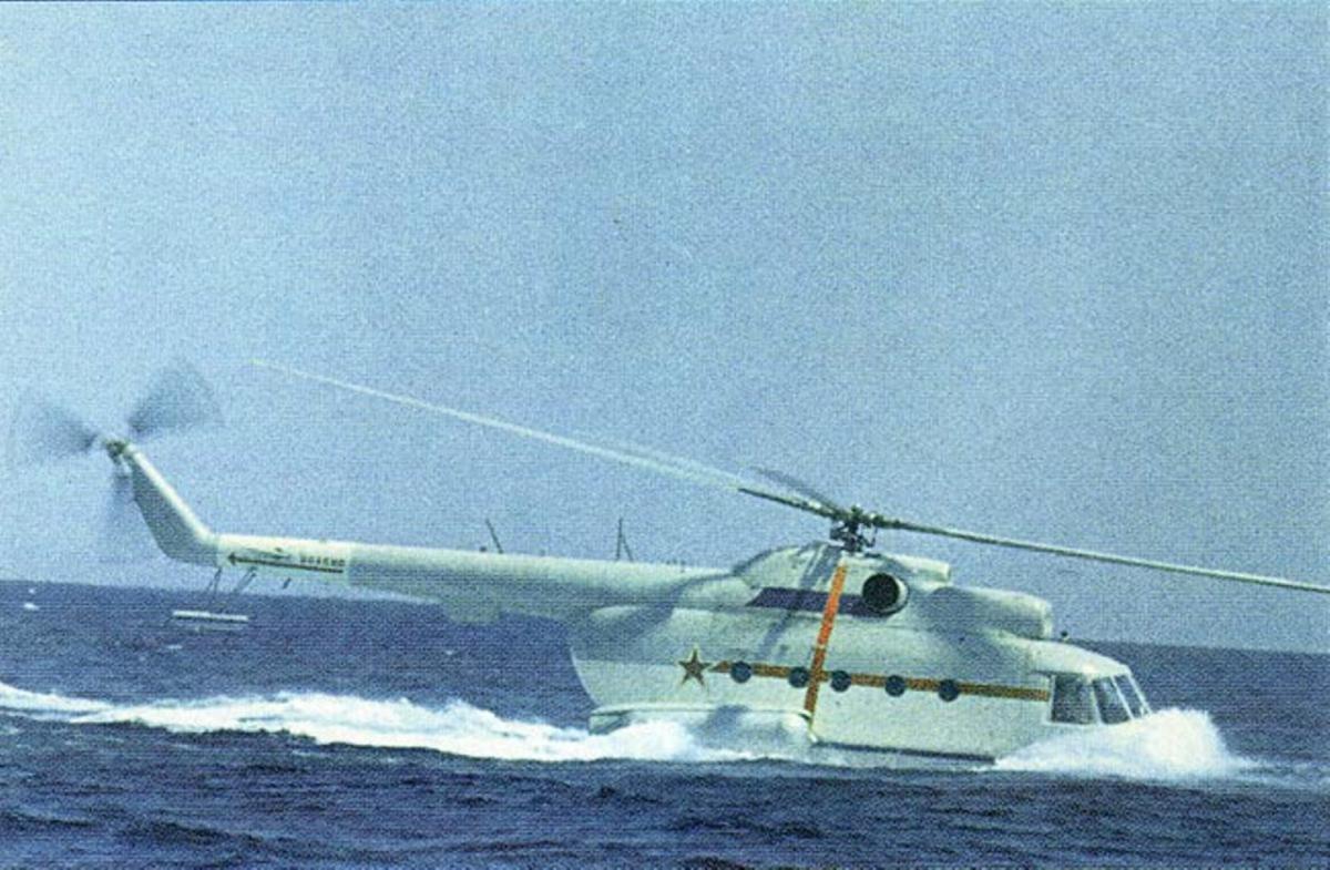 Ми-14 в воде