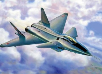 МиГ 1.44 МФИ в полете