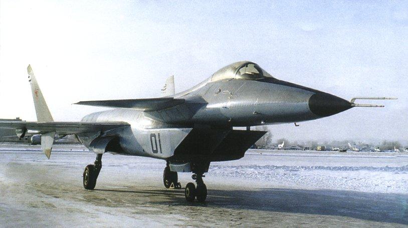 МиГ 1.44 на стоянке