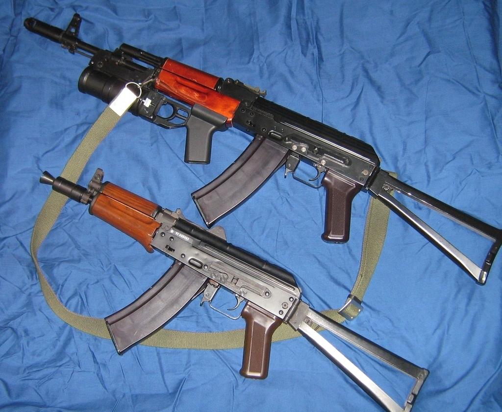 Модификации АК74