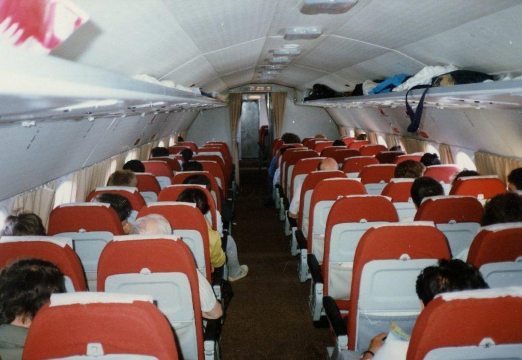Пассажирский салон Ил-18