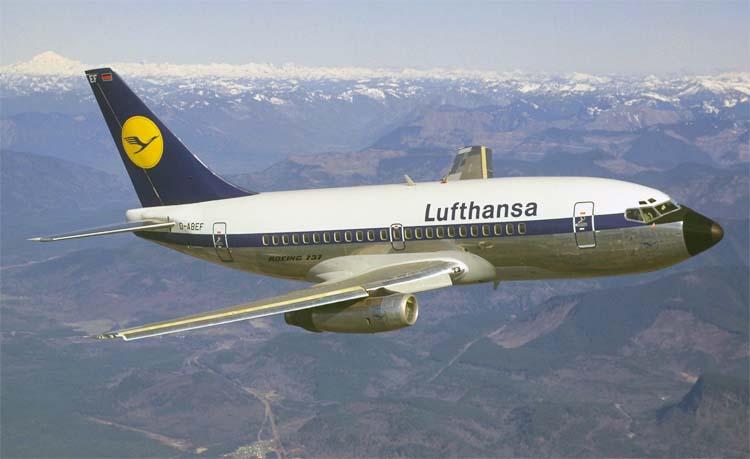 Первый Боинг 737 100