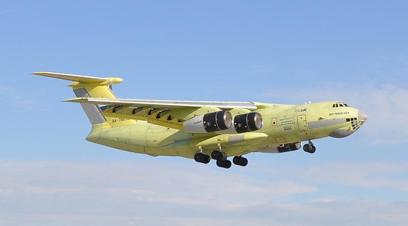 Первый полет Ил-476