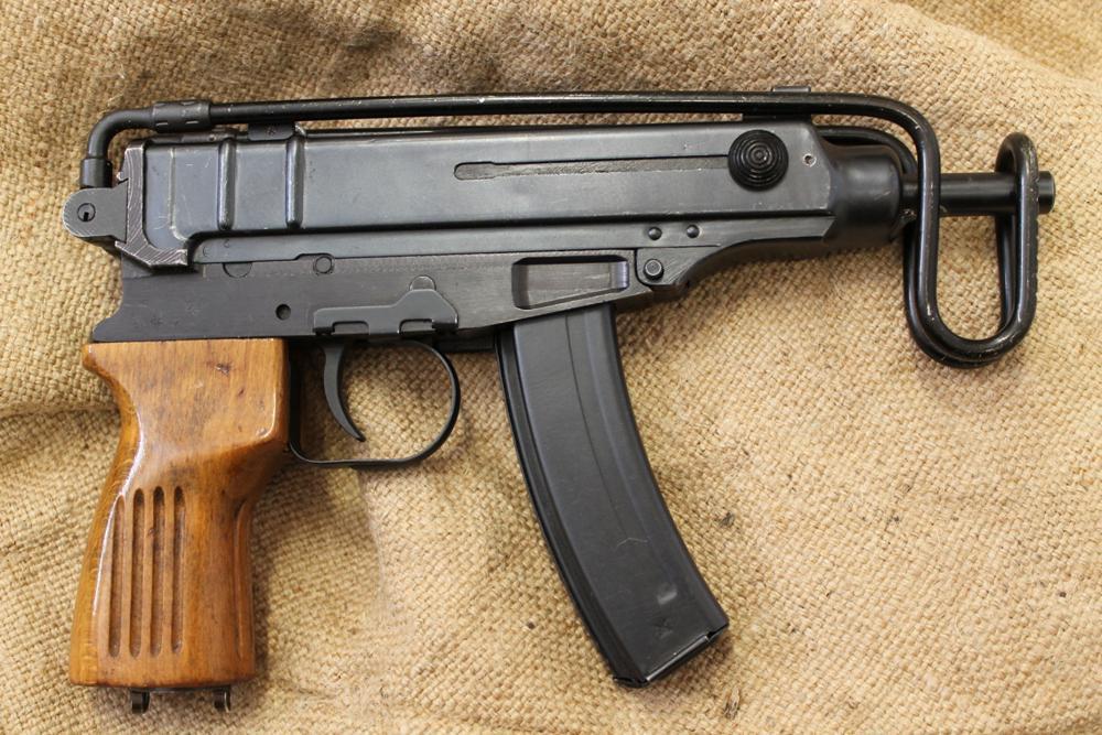 Пистолет-пулемет Skorpion Vz. 61