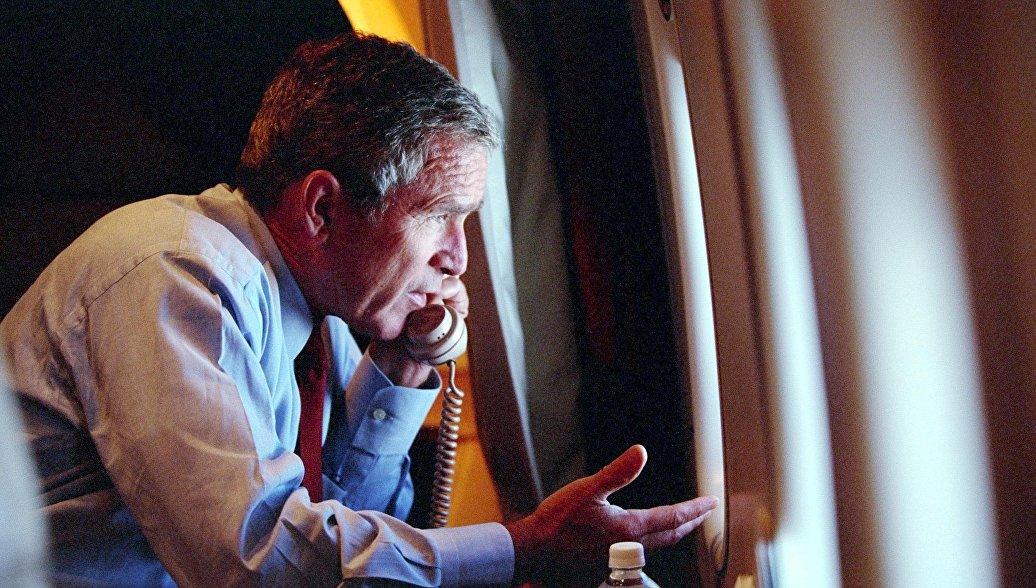 Президент США Буш