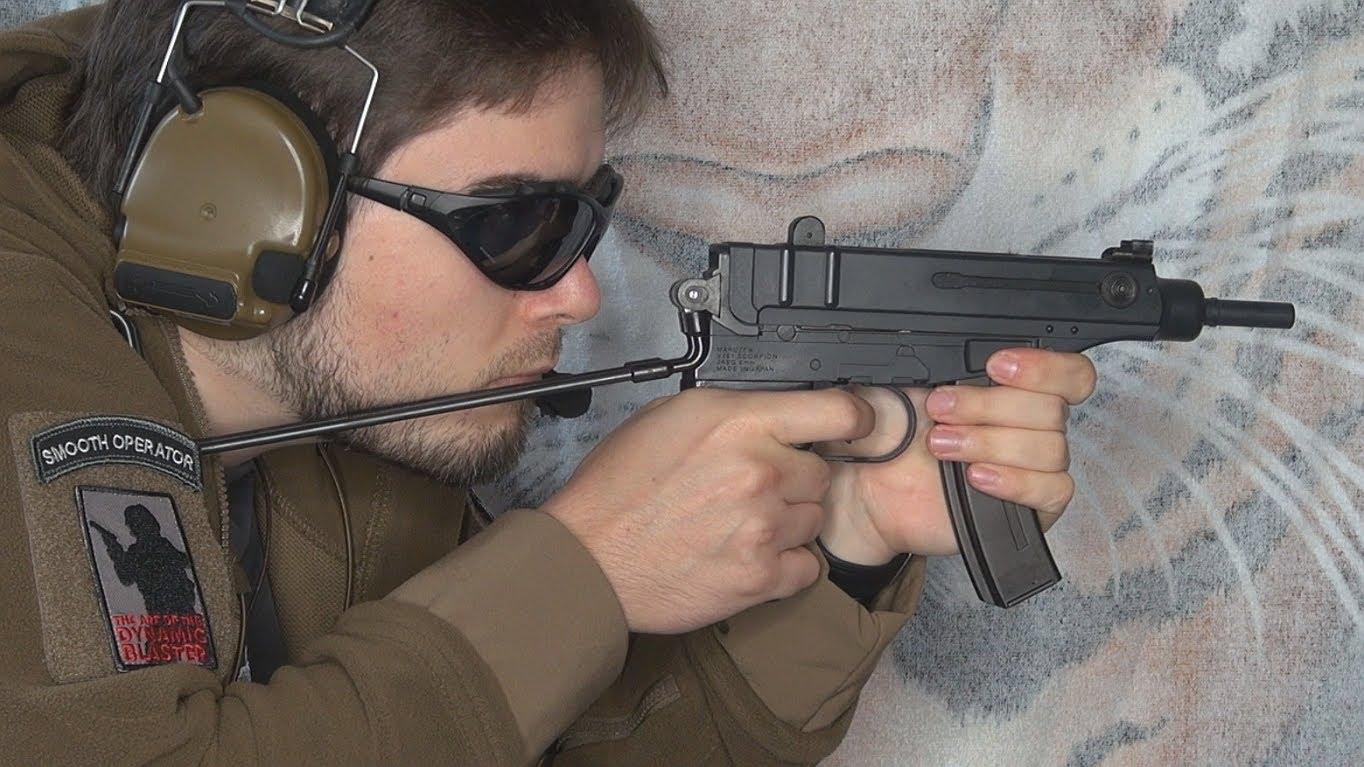 Прицеливание из Skorpion Vz. 61