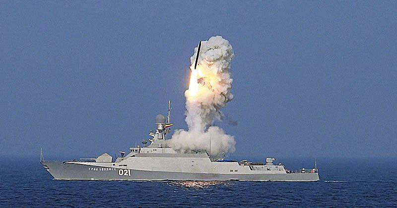 Проект 21631: пуск ракеты