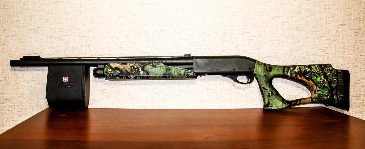 Remington-870 с отделкой