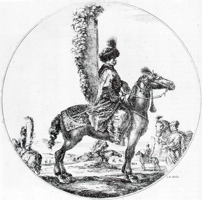 Рисунок гусара
