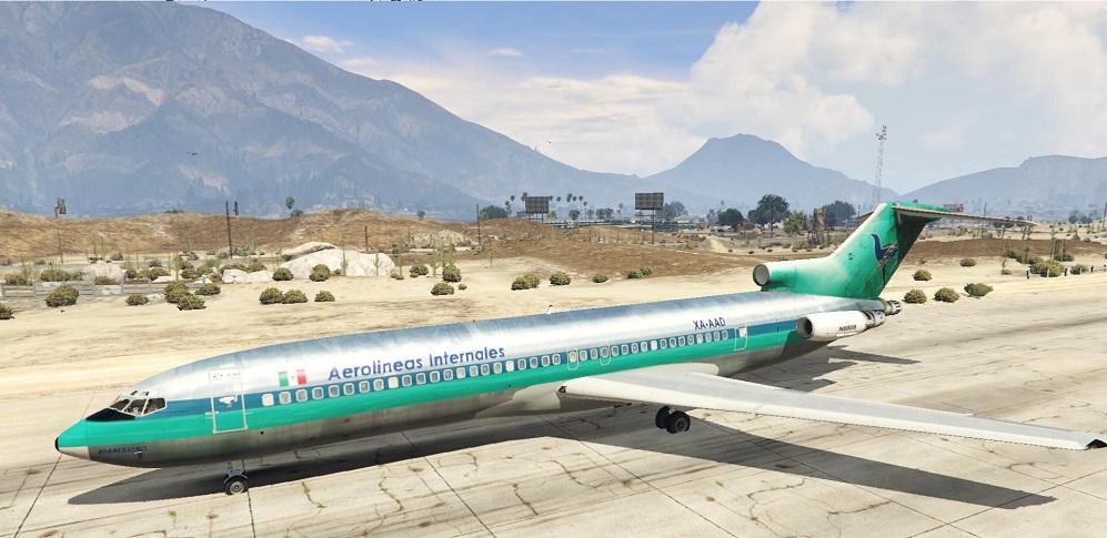 Самолет на внутренних линиях
