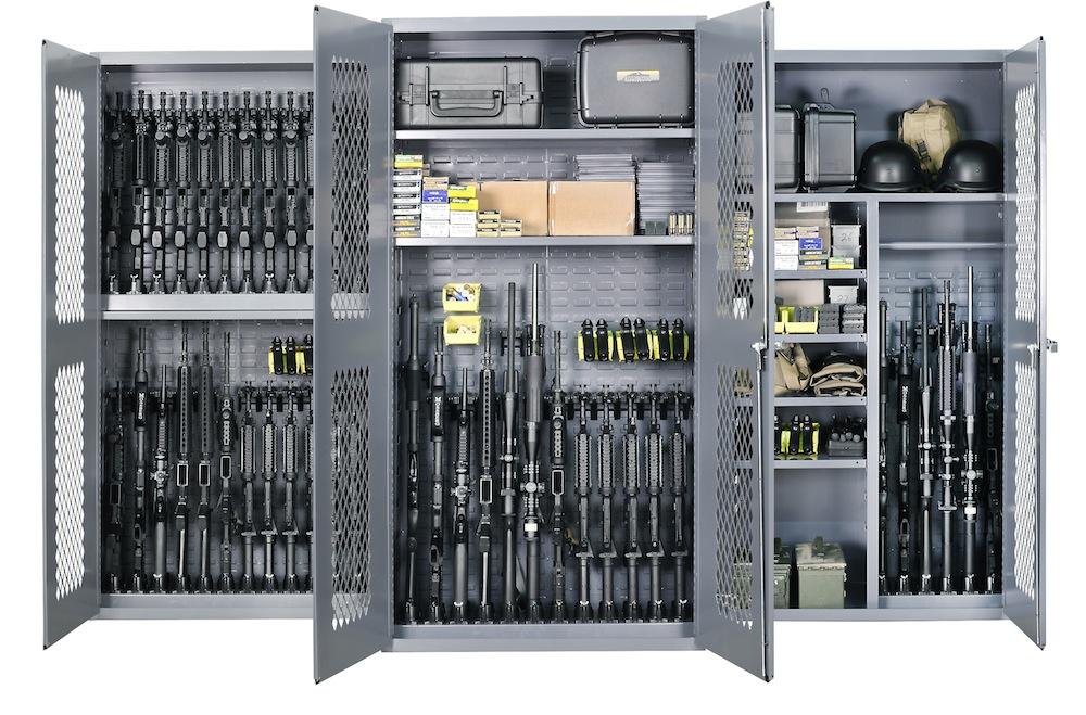Шкафы с оружием