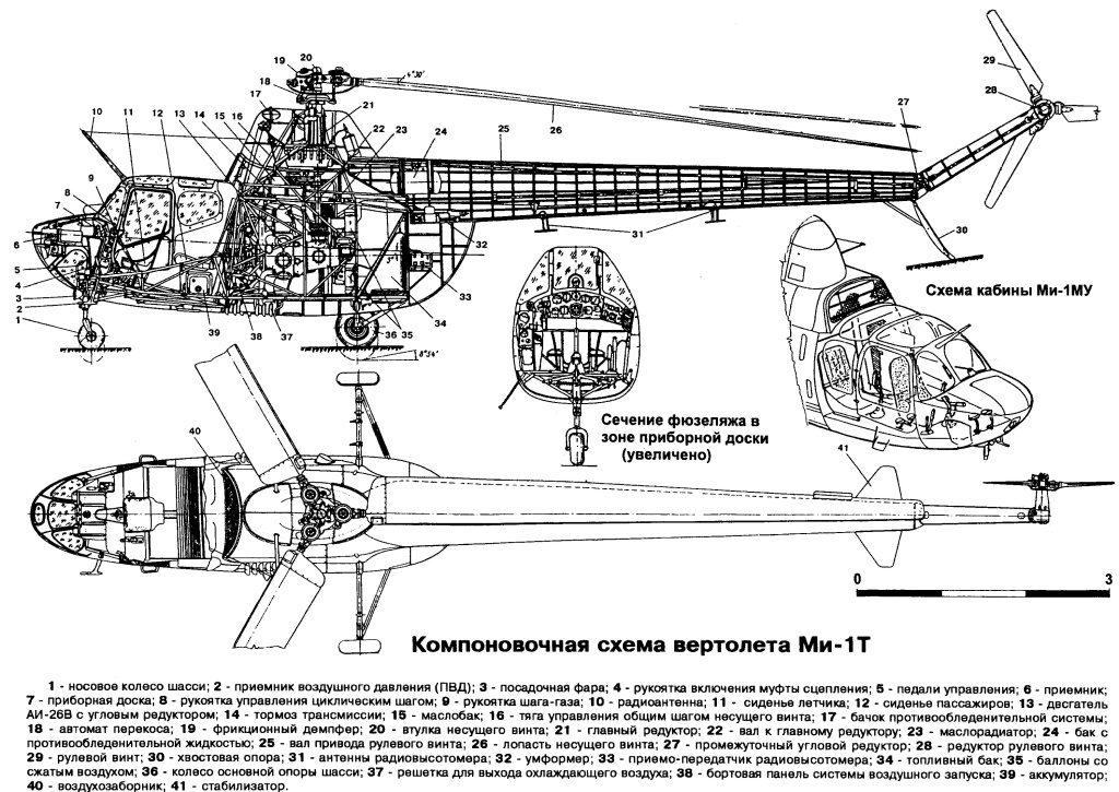 Схема Ми-1