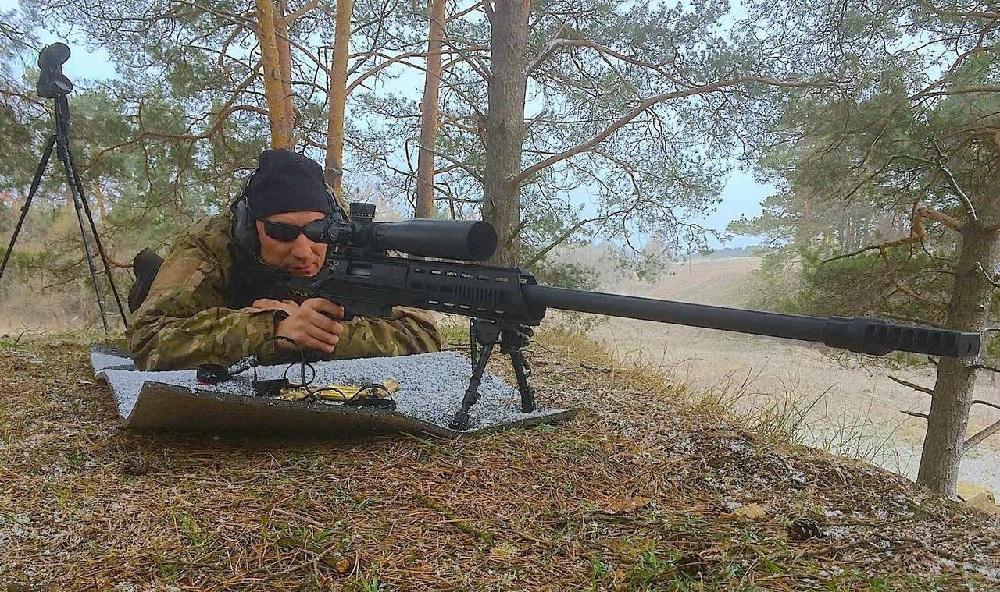 Снайперская крупнокалиберная винтовка