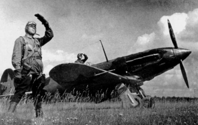 Советские асы у Мига