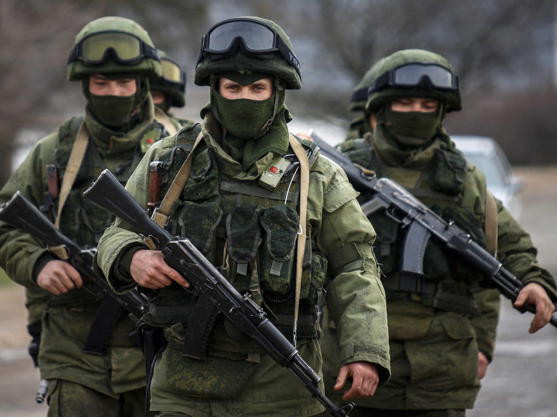 Современная российская военная форма