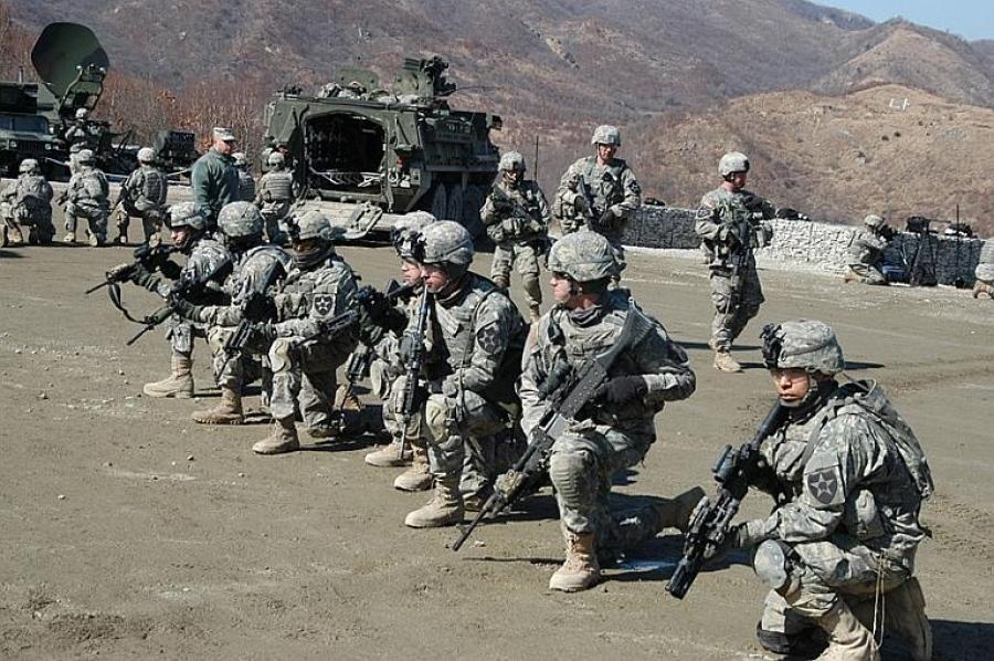 Современная военная форма Южной Кореи