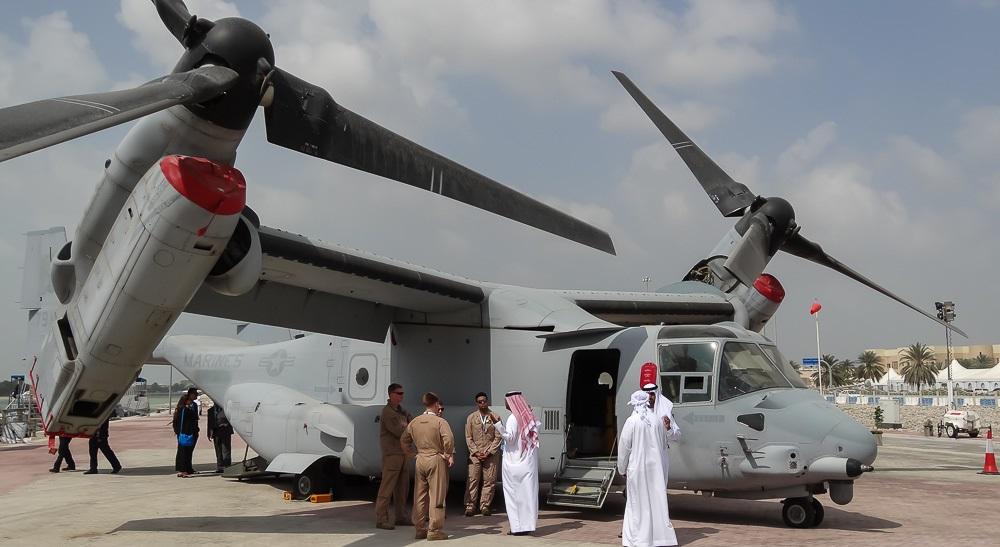 V-22 Osprey на земле