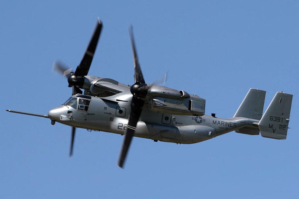 V-22 Osprey в полете