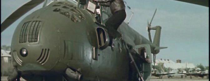 Вертолет Ми-4 на испытаниях