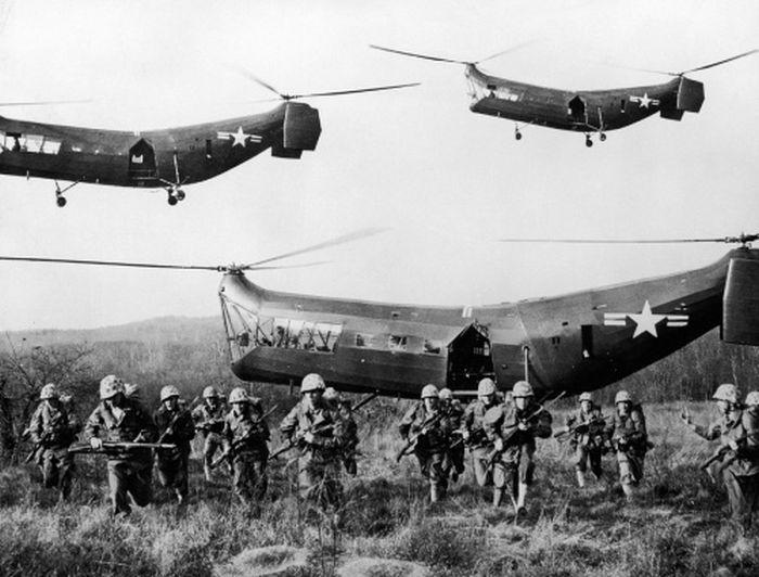 Вертолеты в Северной Корее
