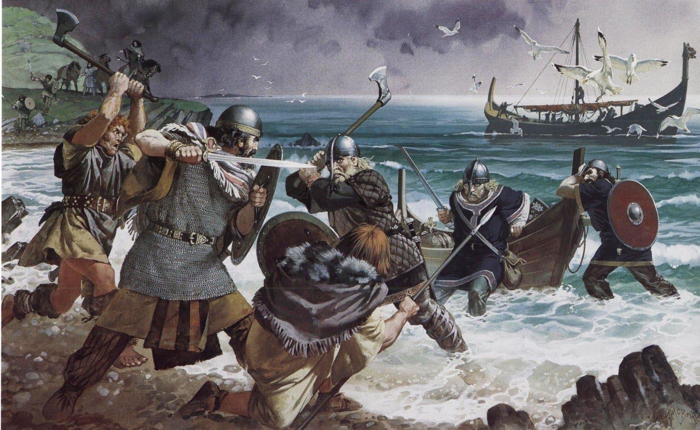 Высадка викингов