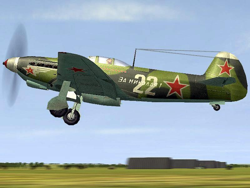Взлет ЯК-7