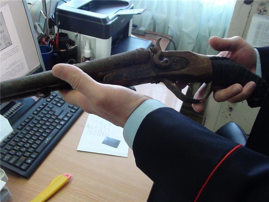 Заржавевшее ружье