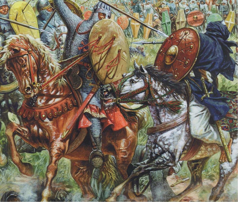 Армия халифата в бою