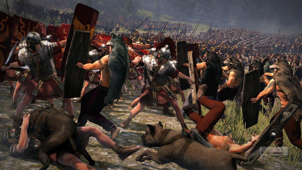 Битва римских легионов