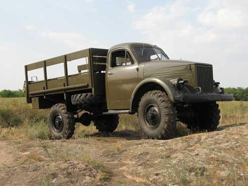 ГАЗ-63 на бездорожье
