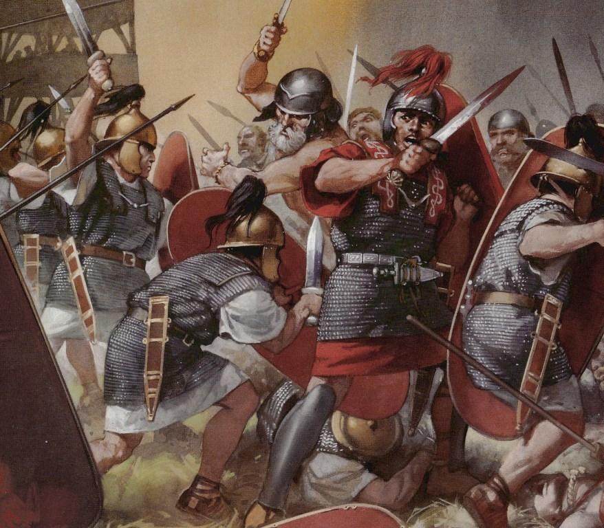 Гладиусы в бою