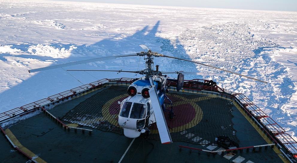 Ка-32 на ледоколе
