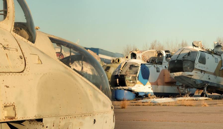 Ка-32 на свалке