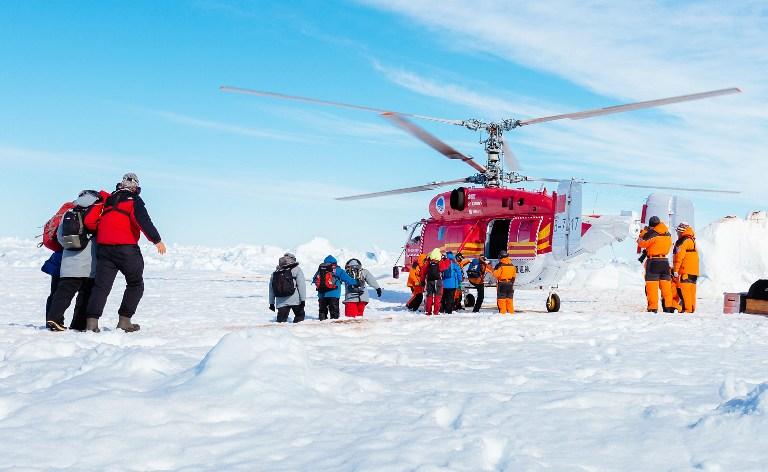 Ка-32 во льдах