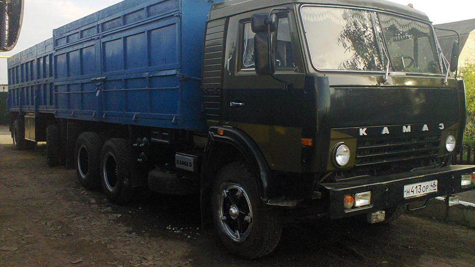 КамАЗ-5320 с прицепом
