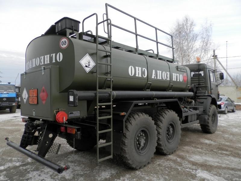 КамАЗ-53501 с цистерной