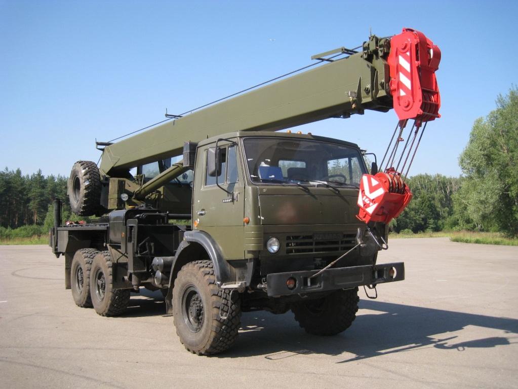 КамАЗ-53501 с крановой установкой
