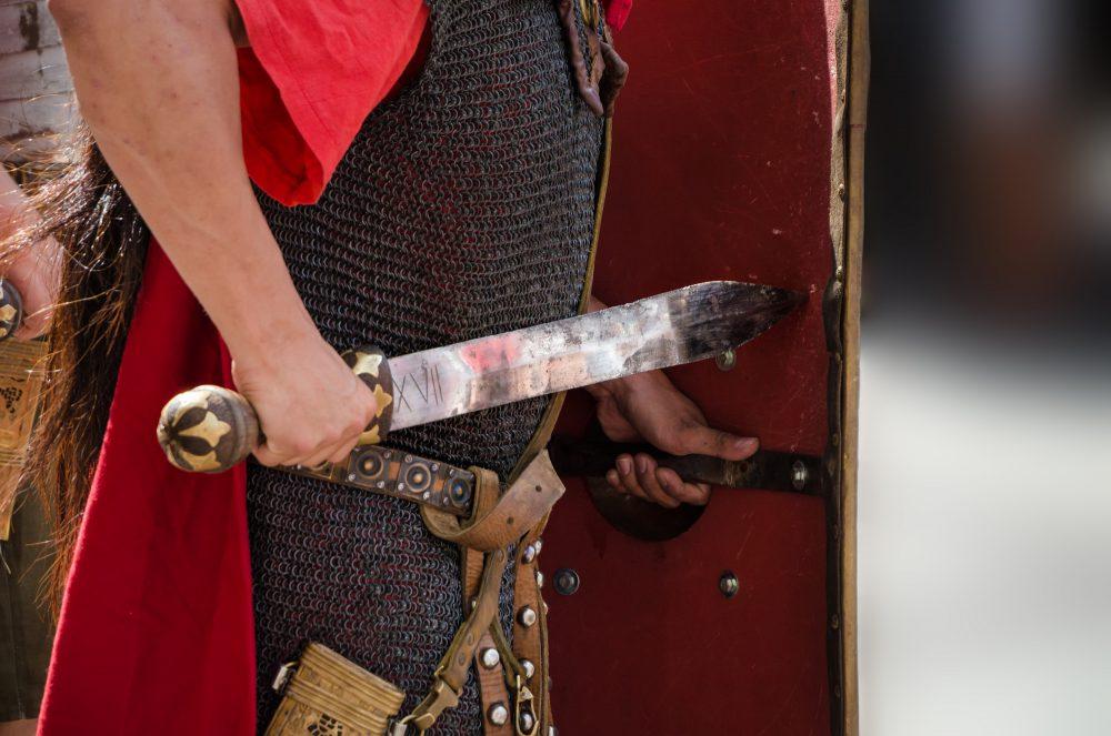Легионер с гладиусом