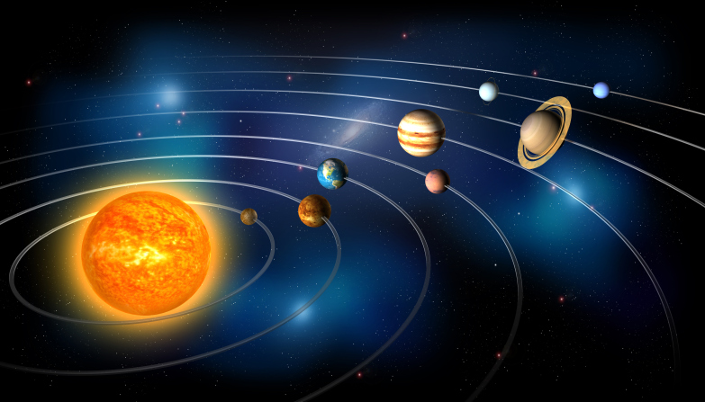 Место Земли в Солнечной системе