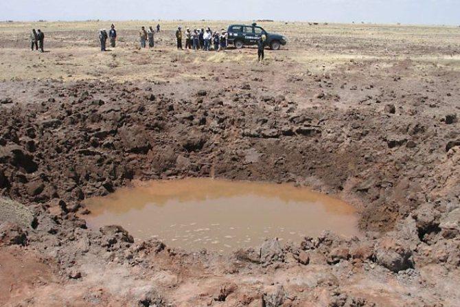 Метеорит в Перу