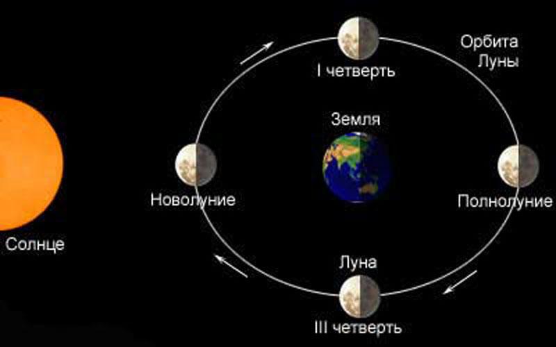 Орбита Луны