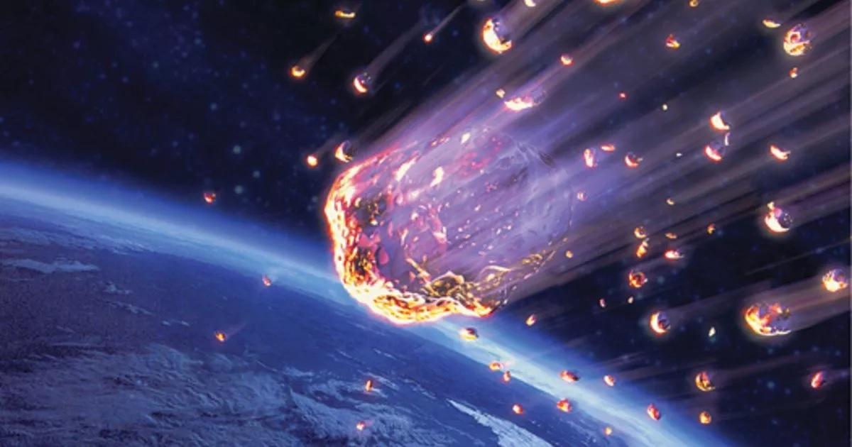 Падение метеоритов