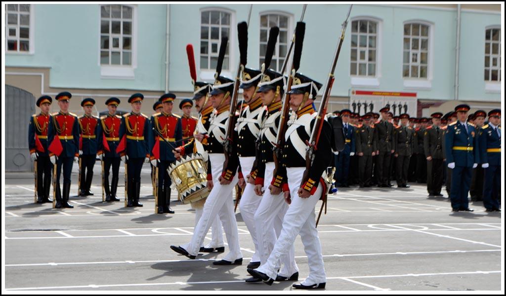 Парадная форма Семеновского полка