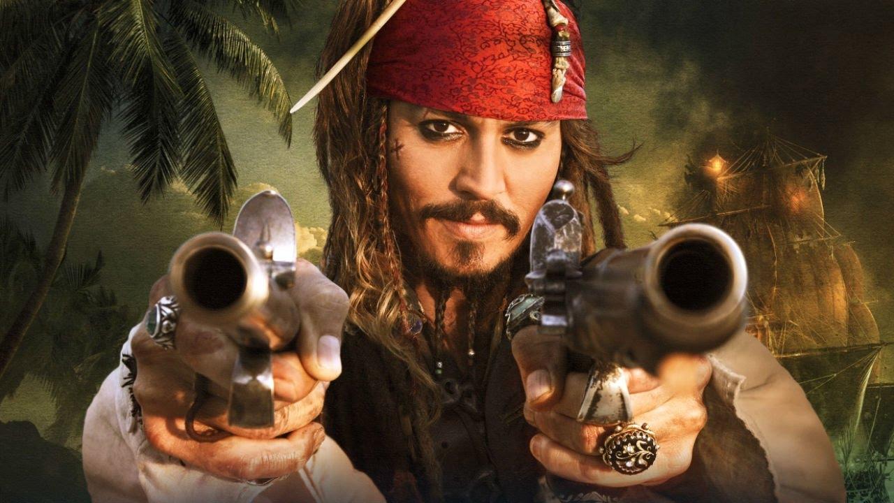 Пират с мушкетами