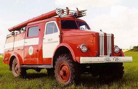 Пожарный ГАЗ-63