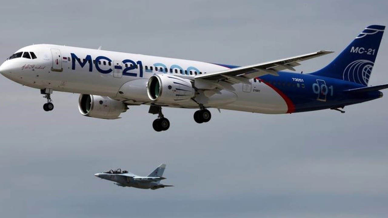 Пробный полет МС-21