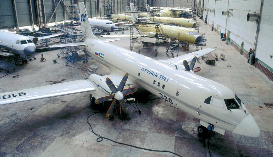 Производство Ил-114